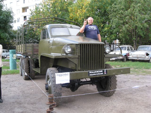 Studebaker US-6   -6 1943      -    4  2011    &nbsp;Dmitry Lomkov museum cars Moscow Russia